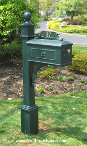 Green Imperial Mailbox 611