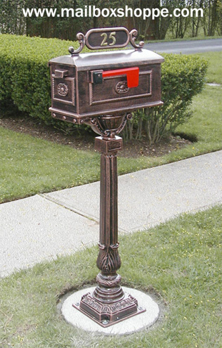 Pedestal Mailboxes and Pedestal Mailboxes