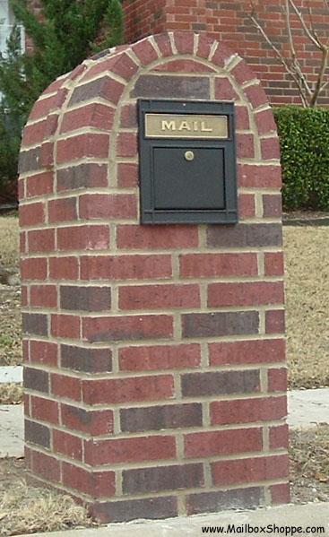 Locking Column Mailbox Insert