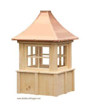 Board & Batten Cupola with windows