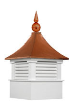 Cupola with Cupola Finial