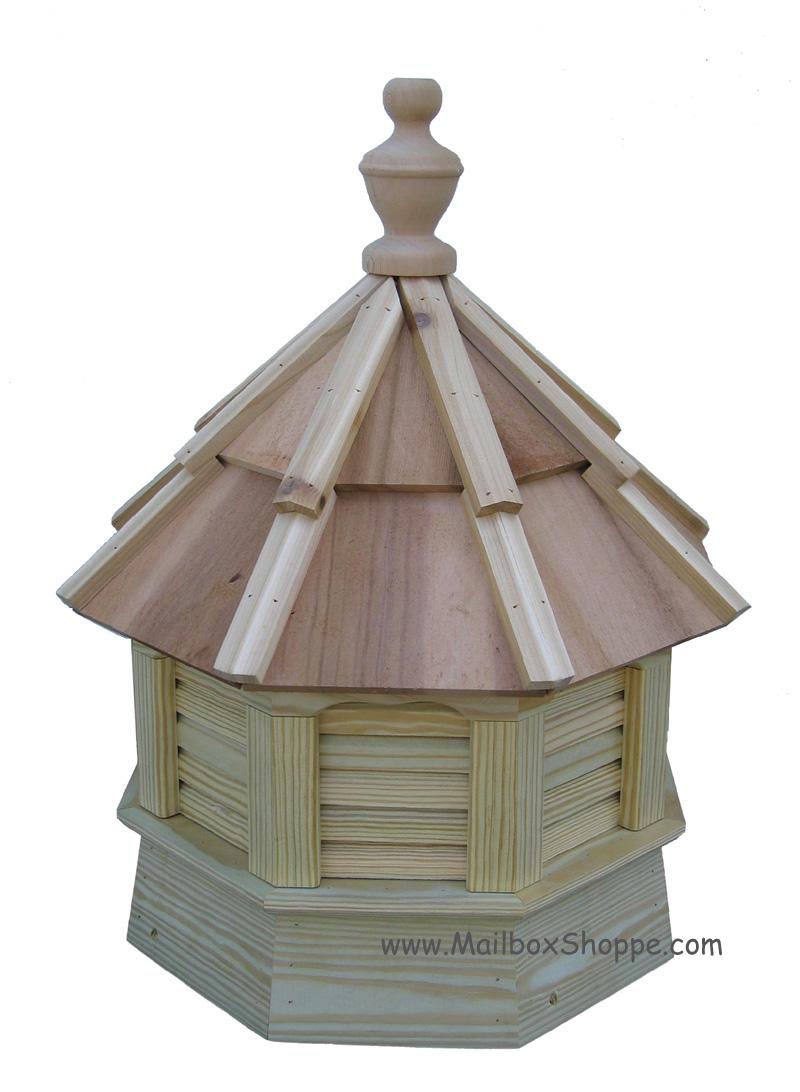 Gazebo cupolas for Roof cupola plans