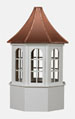 Octagonal Window Vinyl Cupola
