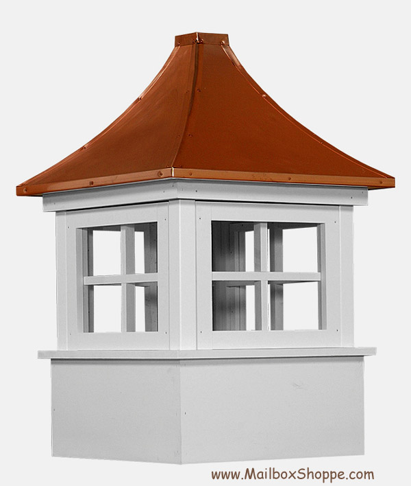 Carlisle vinyl cupola for Cupola with windows