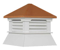 Shed Cupola Copper Roof