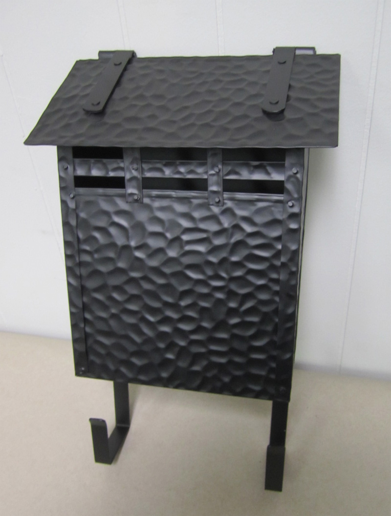 Hammered Craftsman Upright Mailboxes