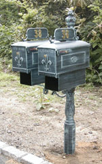 Imperial Twin Double Mailbox