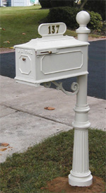 Imperial Mailbox 888