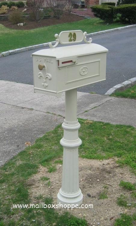 c11 imperial mailbox u0026 post - Decorative Mailboxes