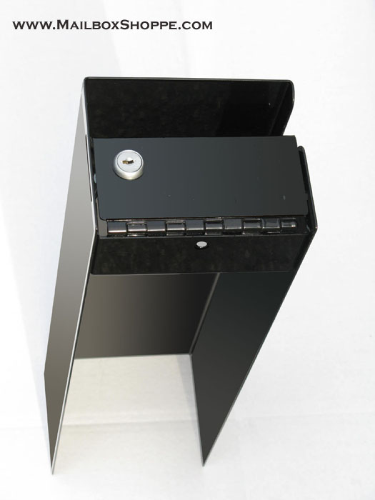 under side of locking mailbox insert - Lockable Mailbox