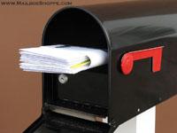 Lockable Locking Post Mount Mailboxes