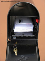 Locking Mailbox Insert