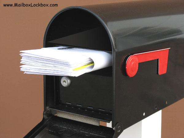 Mail slot Lock Box
