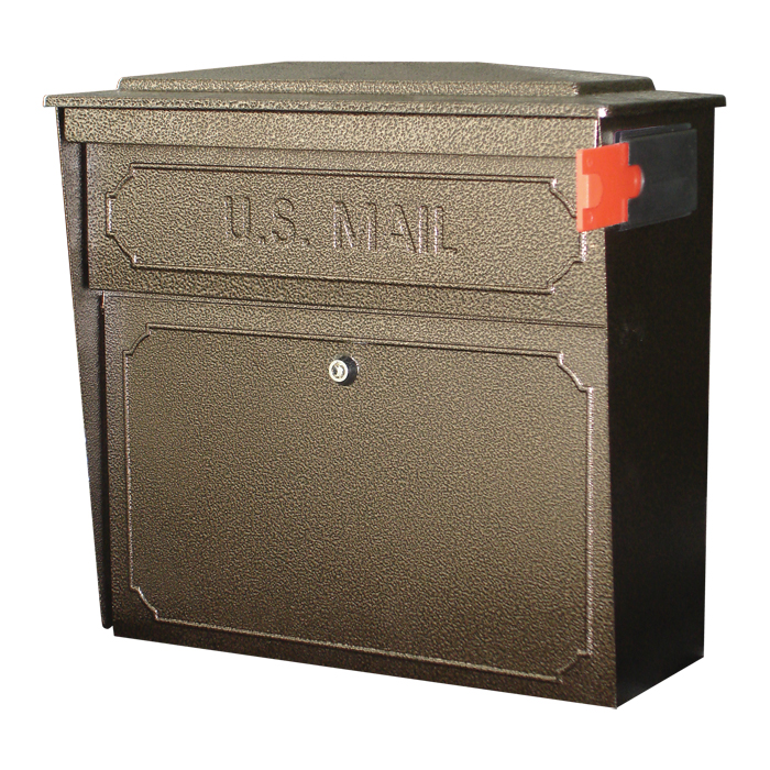bronze city mailbox - Wall Mount Mailboxes