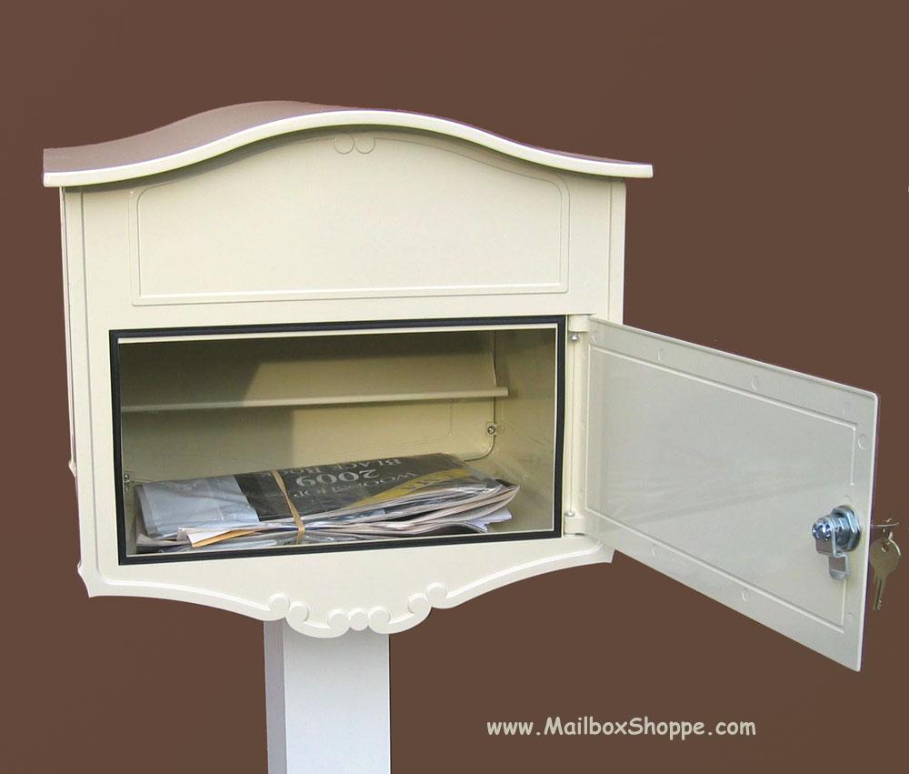 Geneva Locking Mailbox