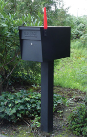 Mail Boss Mailbox with Post