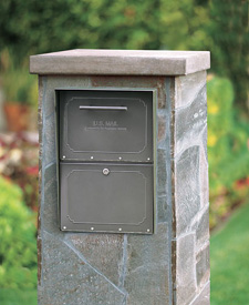 Column Mailbox Brick Mailboxes