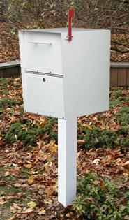 Oasis Locking Mailbox and Post