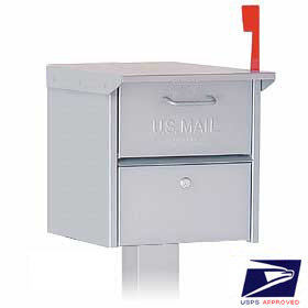 mb4325 silver - Locking Mailboxes