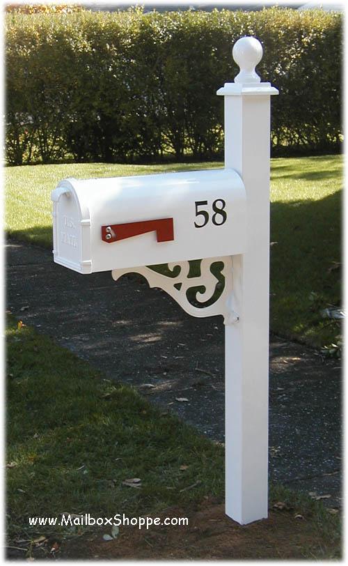 Heavy Duty Mailbox With Decorative Mailbox Post