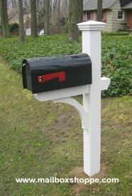 mailbox posts wood