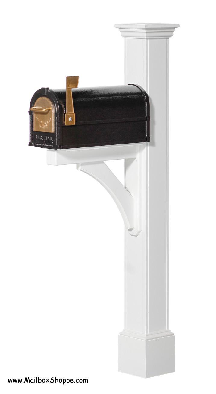 Hartford Azek Vinyl Mailbox Post