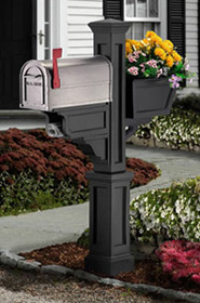 Signature Plus PVC Mailbox Post
