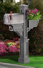 GraniteSignature Plus PVC Mailbox Post