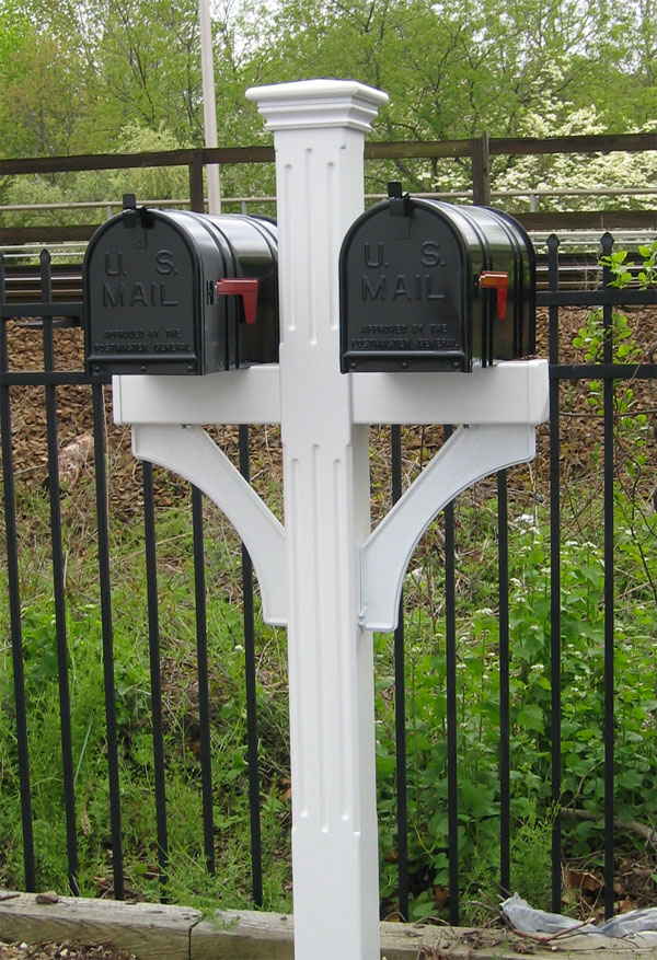 Double Wood Mailbox Plans http://www.mailboxnet.com/mailbox_posts ...