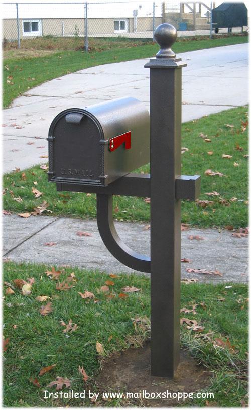 Mailbox Images Hampton mailbox post