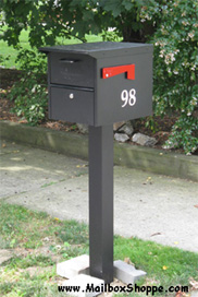 roadside locking mailbox - Locking Mailboxes