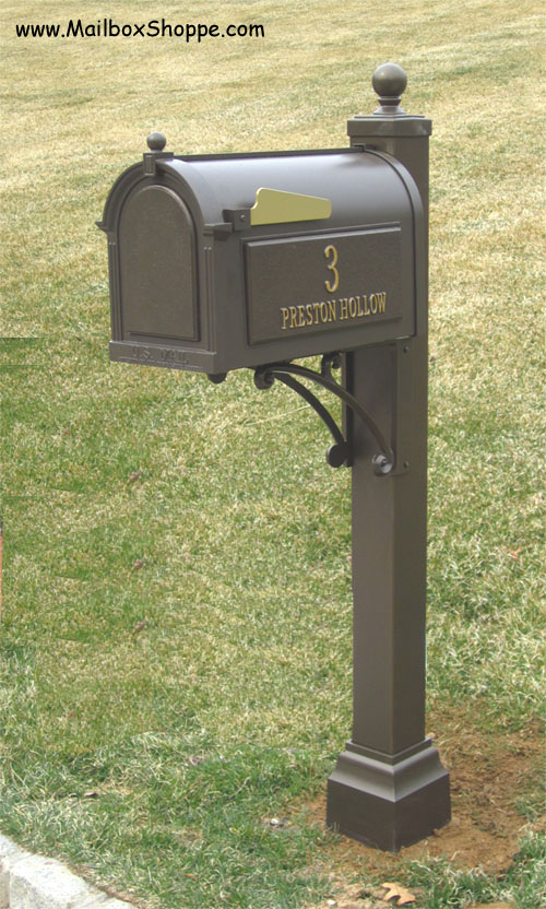 Discount Whitehall Deluxe Mailbox And Post Pkg 399
