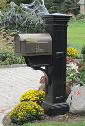 whitehall mailbox liberty post - Decorative Mailboxes