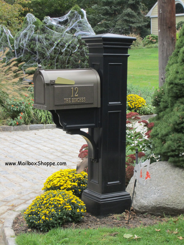 Mayne liberty vinyl mailbox post and replacement parts for Unique mailboxes to buy