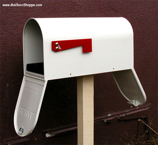 MB950DD 2 Door Newport Mailbox & MB950DD Two Door Newport Mailbox