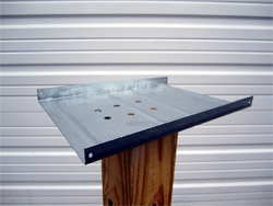 Newport Mailbox mounting plate