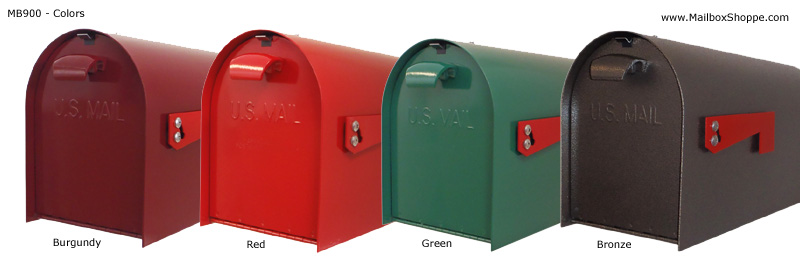 image of heavy duty extra large rural mailbox