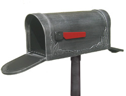 sc 1 st  Mailbox Shoppe & 2 Two Door Post Mount Mailboxes