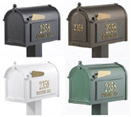 Whitehall Mailbox Colors