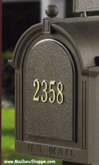 Whitehall Mailbox Door Sign