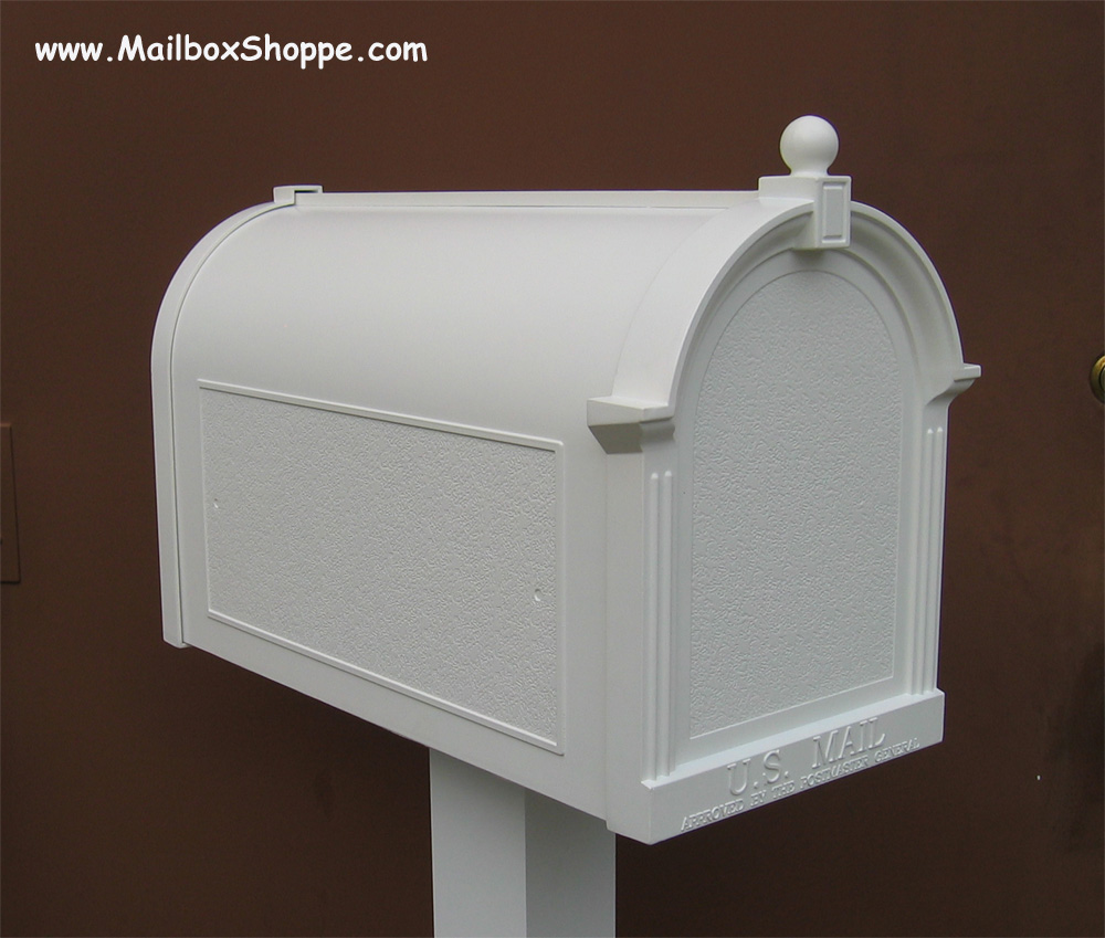 Post: Discount Whitehall Deluxe Mailbox And Post Pkg