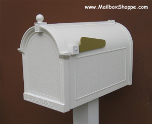 Whitehall Deluxe Capital Mailbox