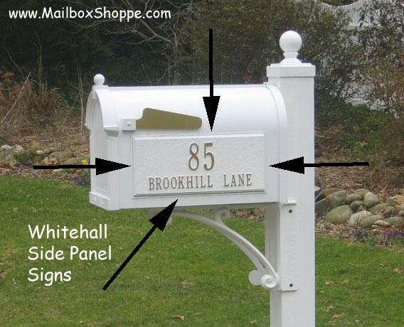 Whitehall Mailbox Order Form