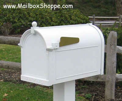 Double Whitehall Mailbox 2 Post Mail Box Amp Door Signs Ebay