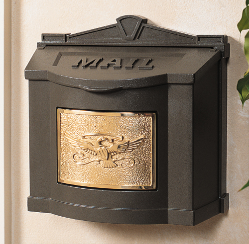 bronze antique bronze - Wall Mount Mailboxes