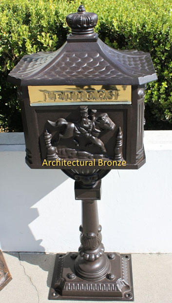 Victorian Pedestal Mailboxes
