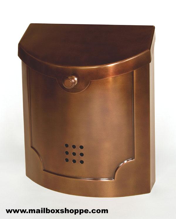 antique copper modern mailbox - Modern Mailboxes