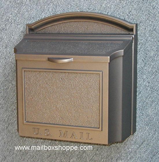 Whitehall Wall Mailbox - Whitehall Wall Mount Mailbox - Cast Aluminum Mail Box EBay