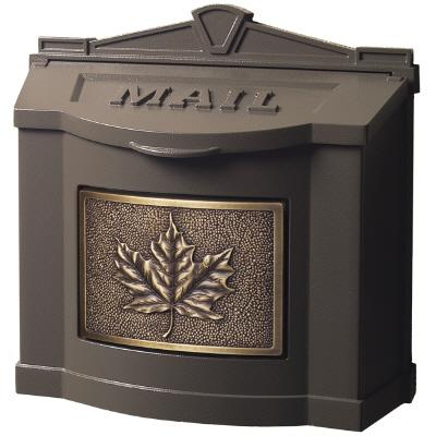 Gaines Maple Leaf Wall Mount Mailbox