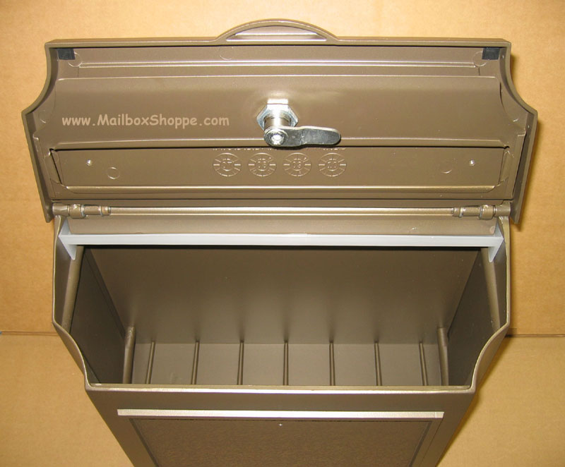 Wall Mounted Mailbox Black Stainless Steel Wall Mounted Mail Box